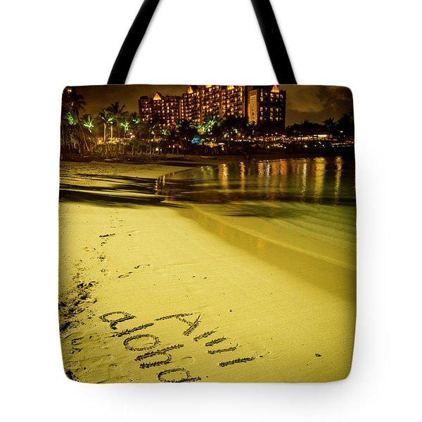 Ami Aloha Aulani Disney Resort And Spa Hawaii Collection Art Tote Bag