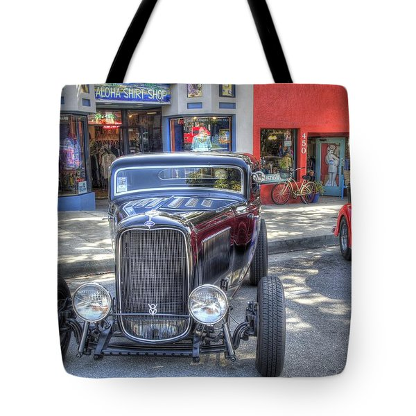 Aloha Cars And Pinups Tote Bag