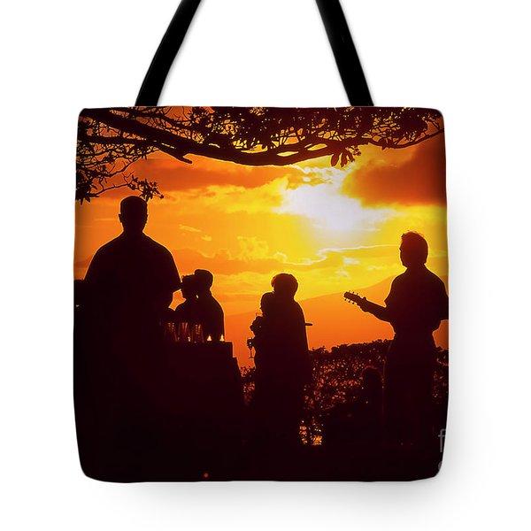 Kapalua Bay Sunset Reception Maui Hawaii Tote Bag