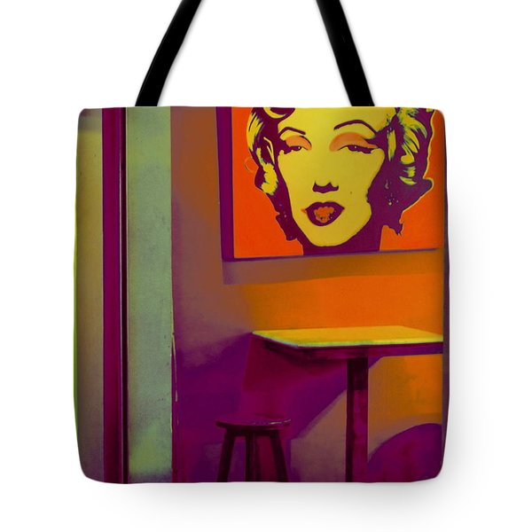 Tote Bag featuring the photograph Alone Again by Ranjini Kandasamy