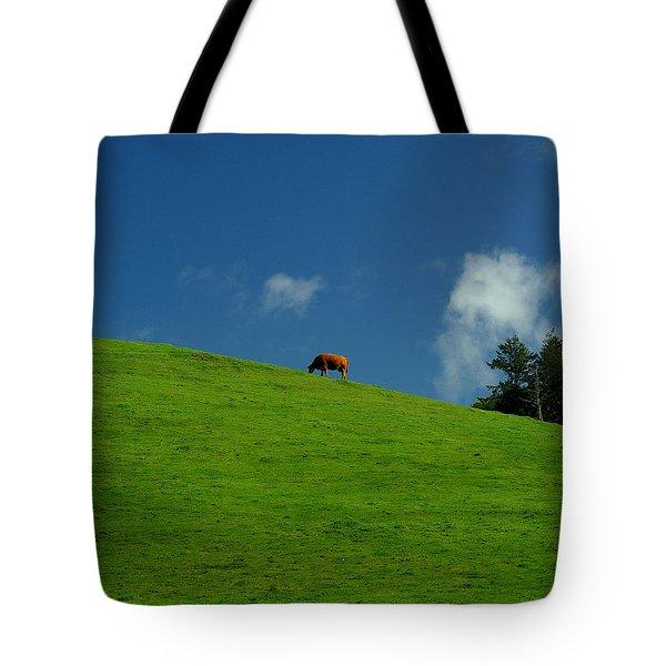 Alone Again - Squared Tote Bag