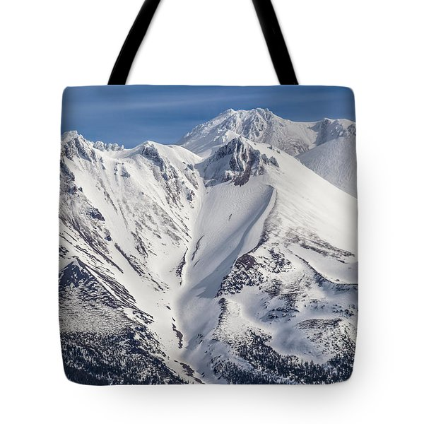 Alone At The Top Tote Bag