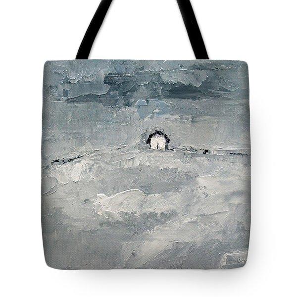 Alone Tote Bag by Becky Kim