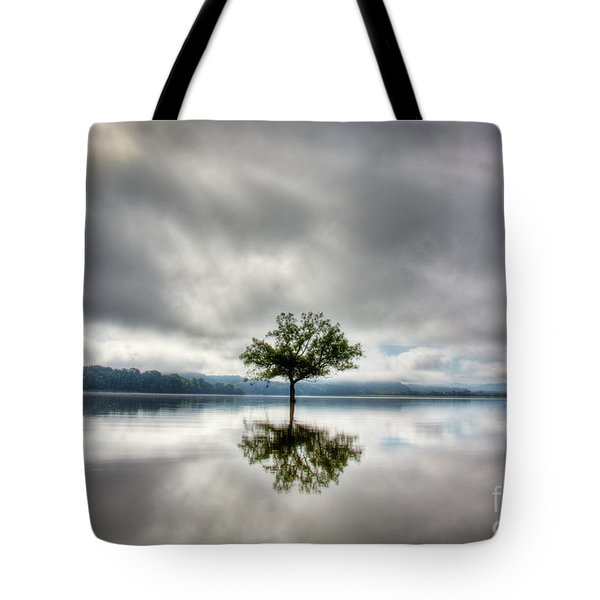 Tote Bag featuring the photograph Alone by Douglas Stucky
