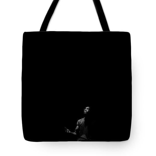 Alone? Tote Bag