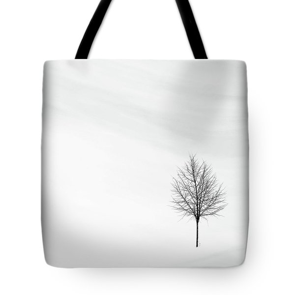 Alone In The Storm Tote Bag