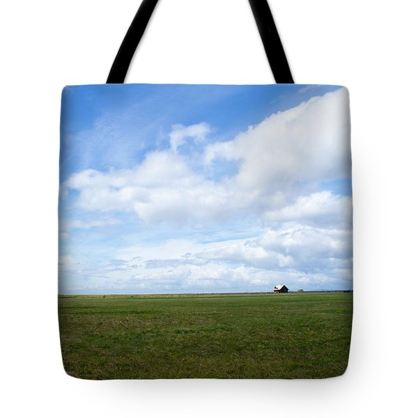 Alone In Iceland Tote Bag
