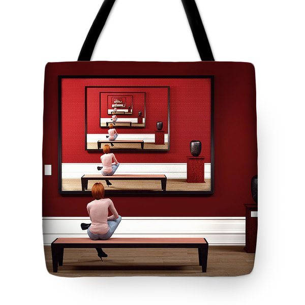Alone In My Gallery Tote Bag
