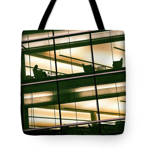Alone In The Temple Tote Bag