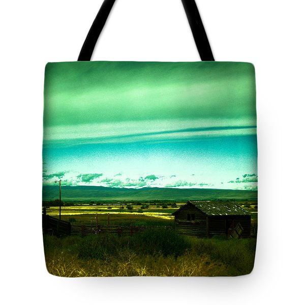 Alone In The Valley Tote Bag