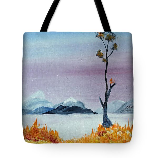 Alone Tote Bag by Jack G  Brauer