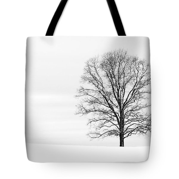 Alone On A Hill Tote Bag