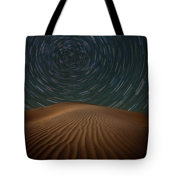 Tote Bag featuring the photograph Alone On The Dunes by Darren White