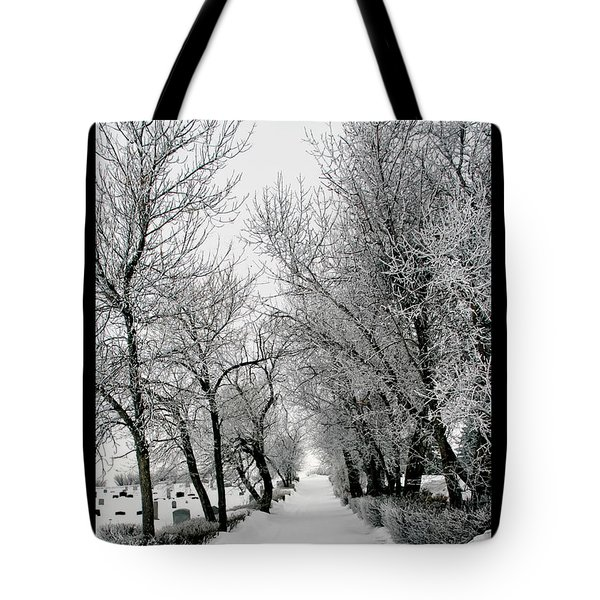 Alone Tote Bag by Rhonda McDougall