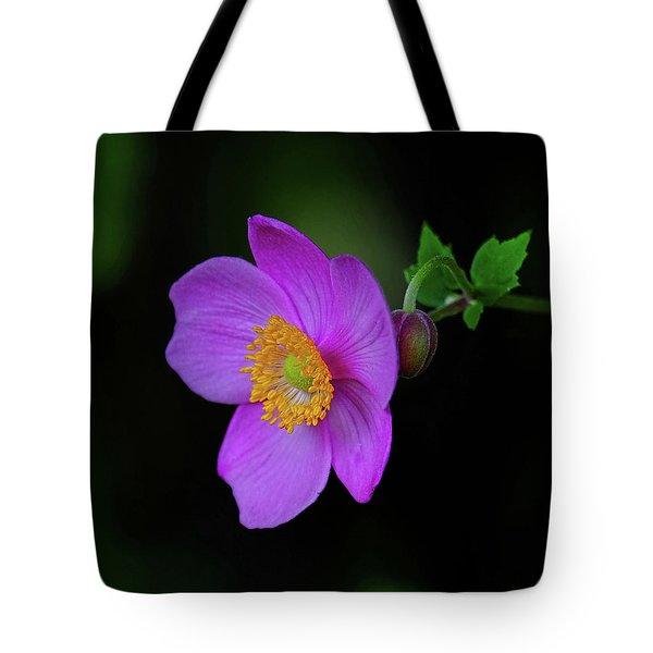 Anenome Purple Tote Bag