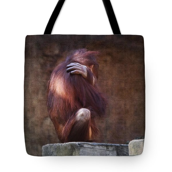 Alone Tote Bag by Sharon Jones