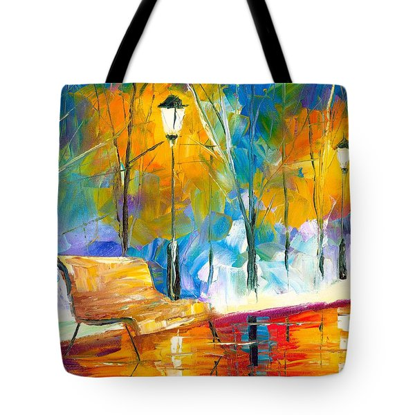 Alone Time Tote Bag by Jessilyn Park