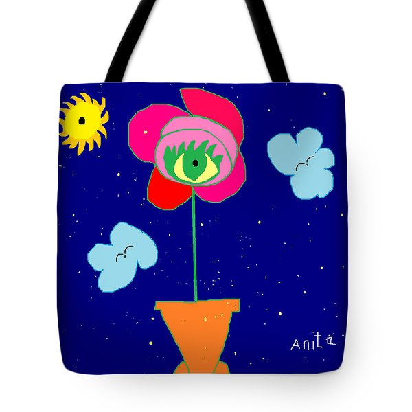 Alone With God Tote Bag