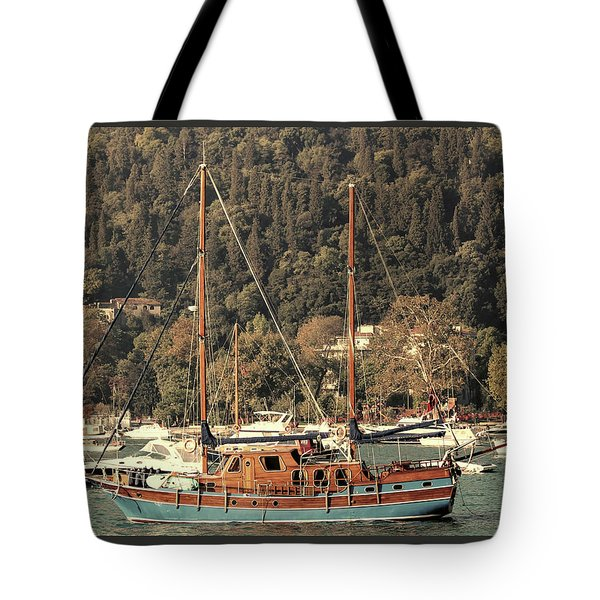 Tote Bag featuring the photograph Along The Bosphorus-istanbul by Tom Prendergast
