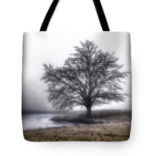 Along A Pond Tote Bag