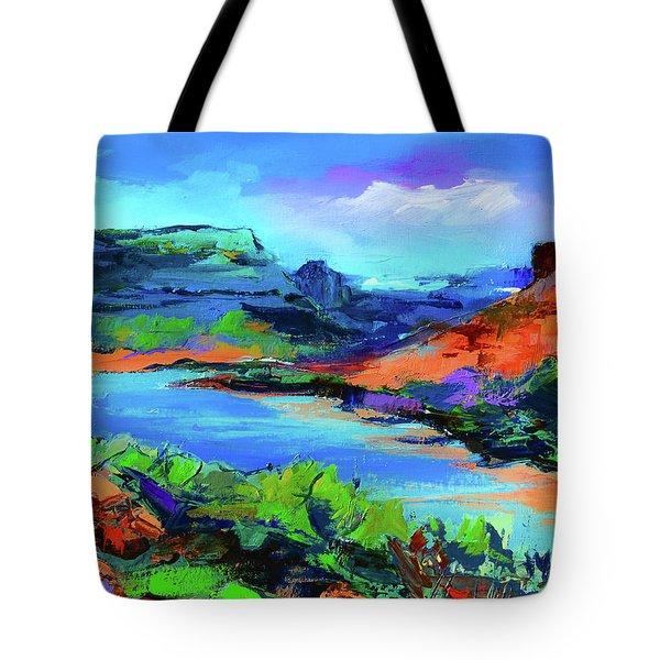 Along Colorado River - Utah Tote Bag