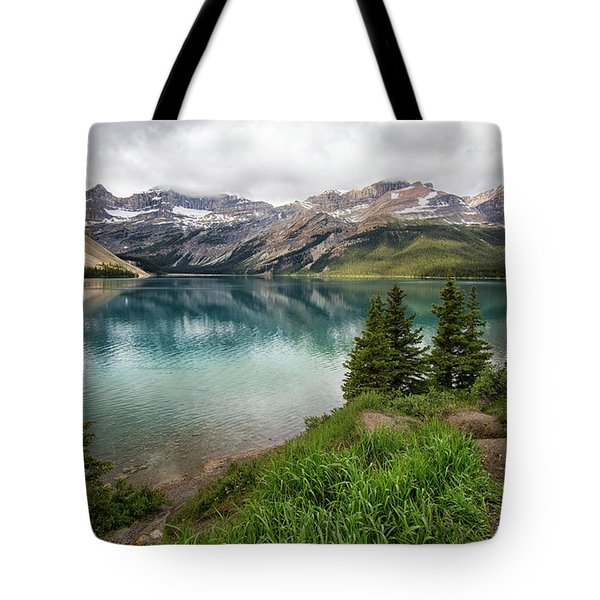 Along Icefields Parkway Tote Bag