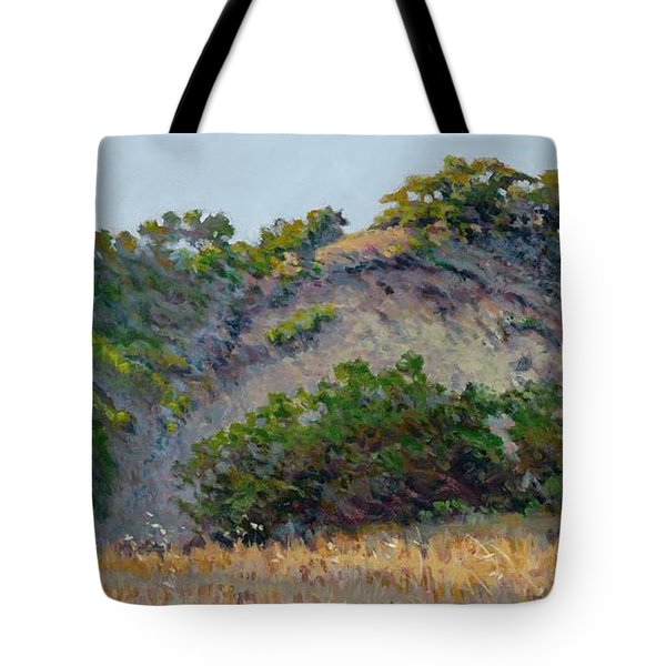 Along Jalama Creek Tote Bag
