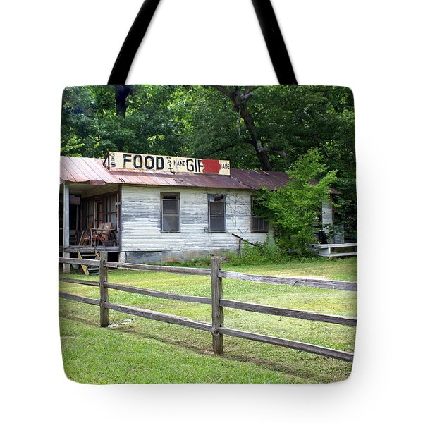 Along Route 66 Tote Bag by Marty Koch