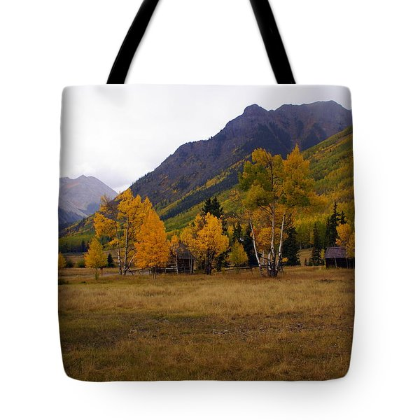 Along The Alpine Loop 2 Tote Bag by Marty Koch