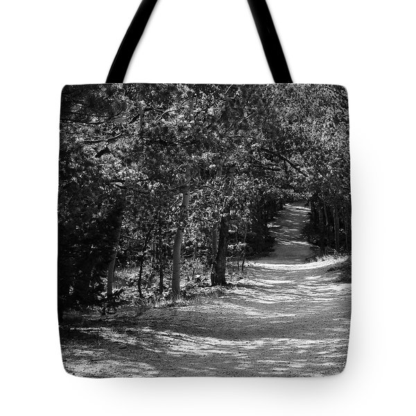 Along The Barr Trail Tote Bag by Christin Brodie