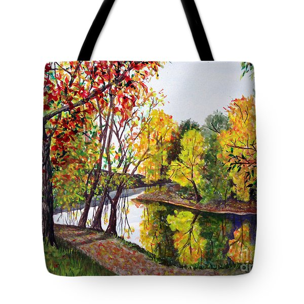 Along The Blanchard Tote Bag