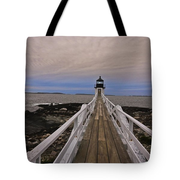 Along The Boardwalk Tote Bag