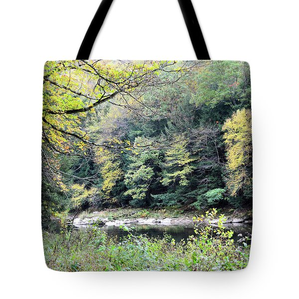 Along The Clarion Tote Bag