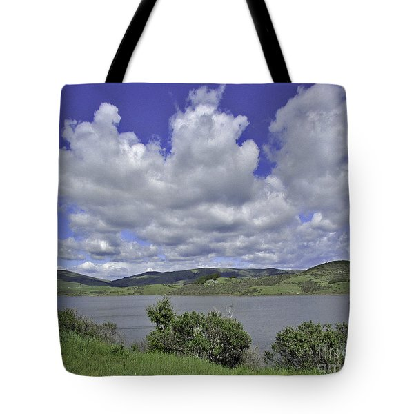 Along The Coast Highway Tote Bag