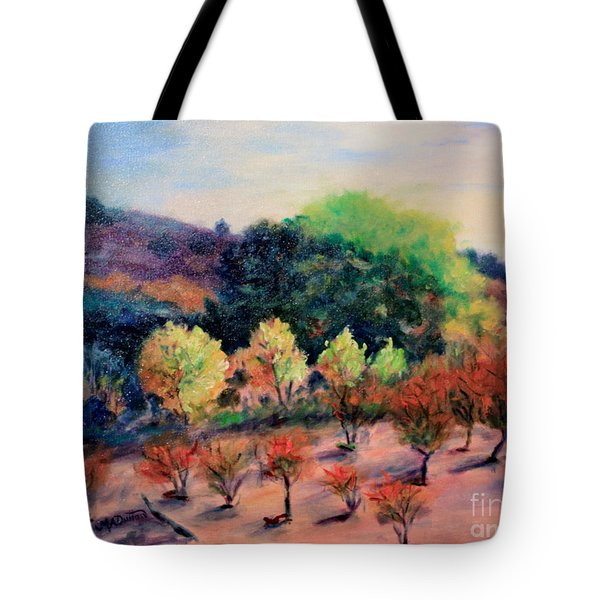 Along The Highway Tote Bag