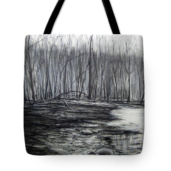 Along The Hudson Tote Bag
