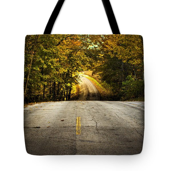 Along The La Aqua Na Circle Road Tote Bag