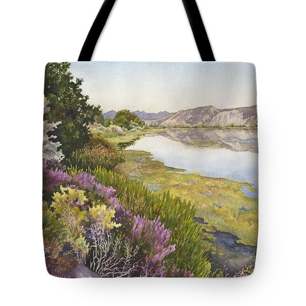 Along The Oregon Trail Tote Bag