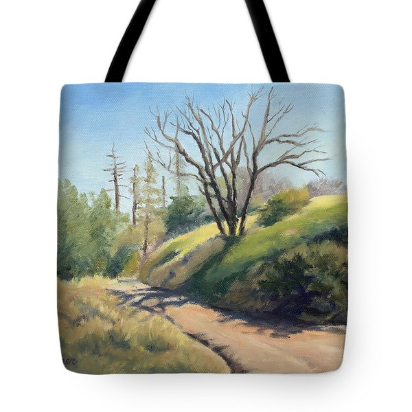 Along The Pacific Crest Trail Tote Bag