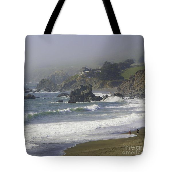 Along The Pacific #2 Tote Bag