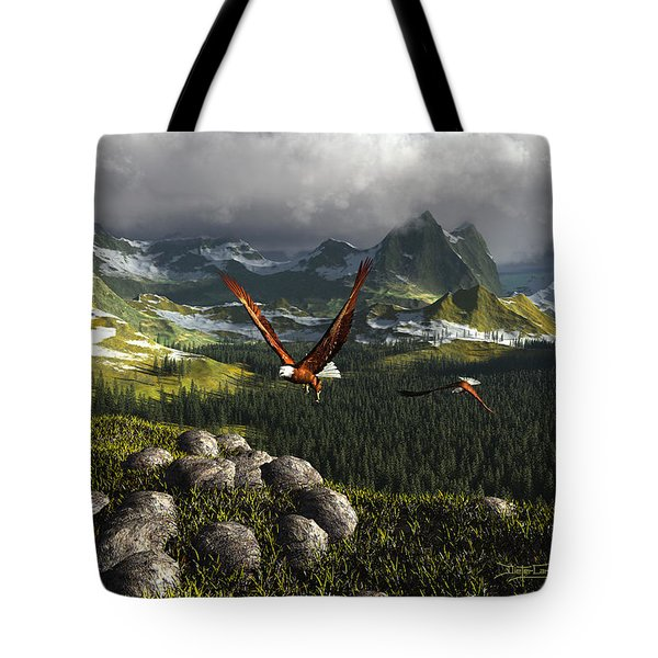 Along The Pinnacles Of Time Tote Bag