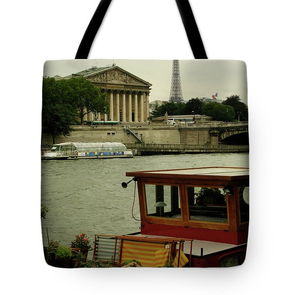 Along The Seine Tote Bag