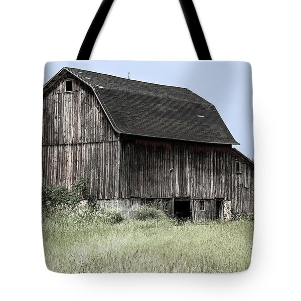 Tote Bag featuring the photograph Along The Way by Kim Hojnacki