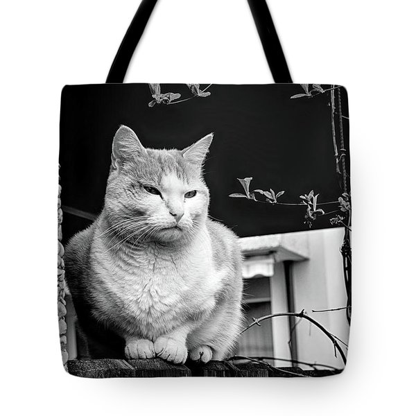 Aloof Tote Bag