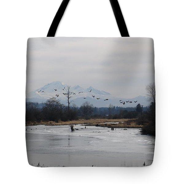 Alouette River Tote Bag