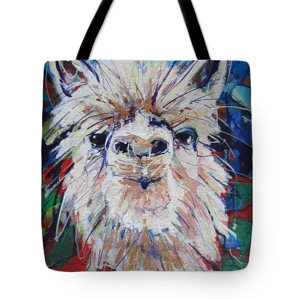 Alpaca Crazed Tote Bag