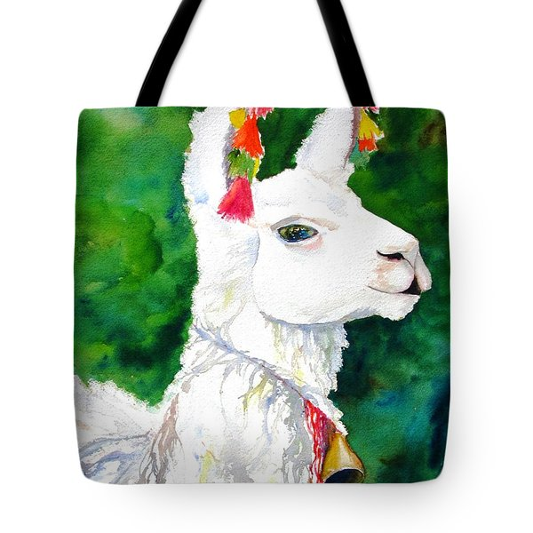 Alpaca With Attitude Tote Bag