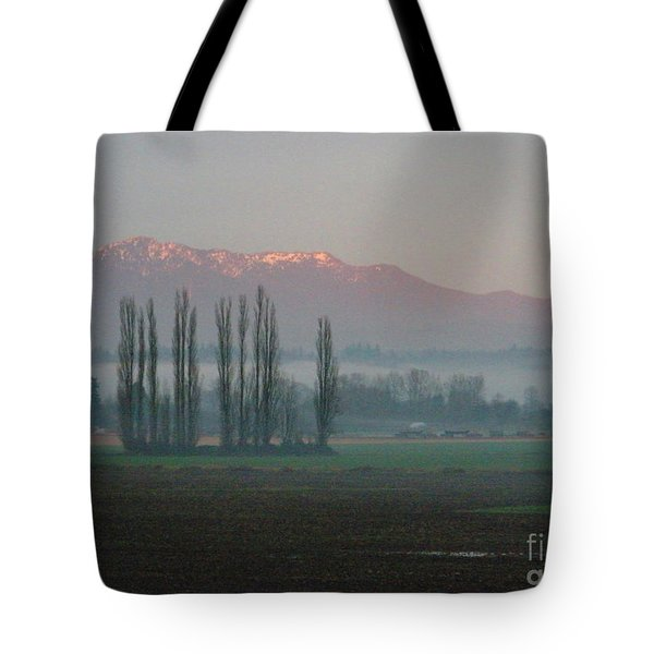 Tote Bag featuring the photograph Alpenglow  by Jeanette French