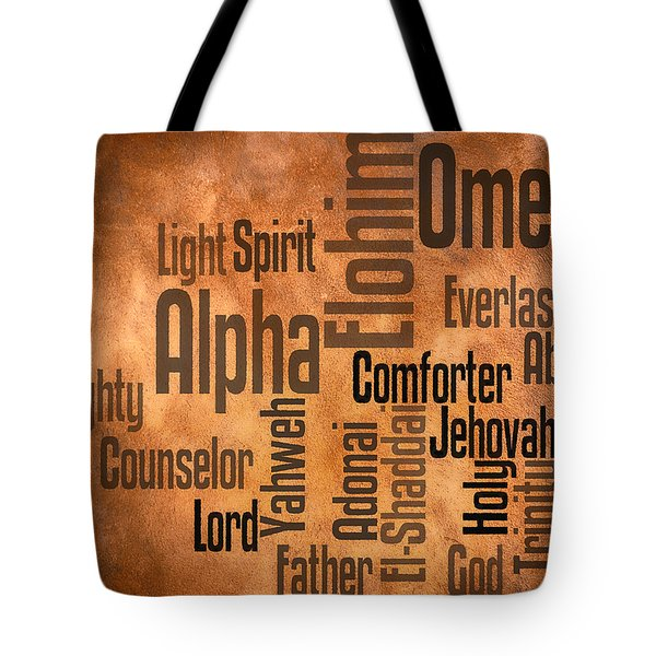 Tote Bag featuring the digital art Alpha And Omega by Angelina Vick