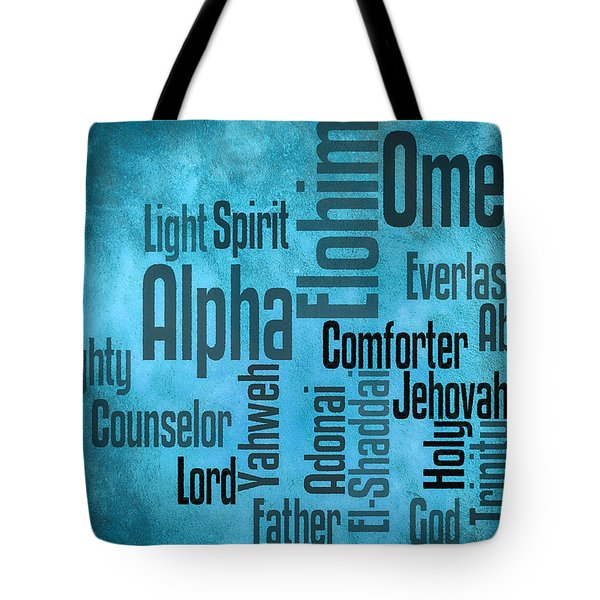 Tote Bag featuring the digital art Alpha by Angelina Vick